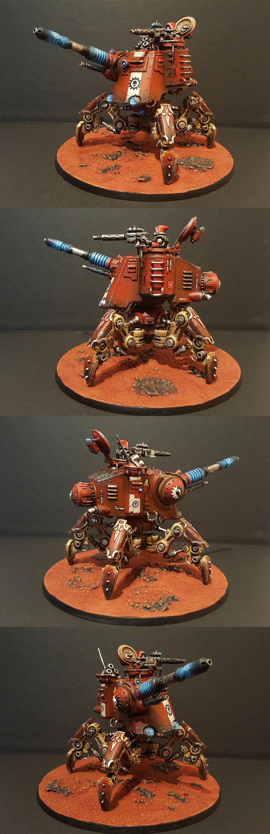 Adeptus Mechanicus Onager Dunecrawler by Amaranth 02
